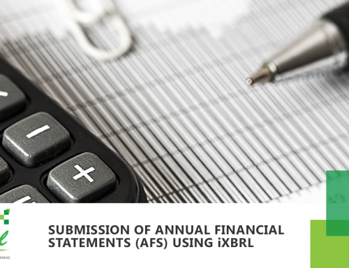 Submission of Annual Financial Statements (AFS) using iXBRL